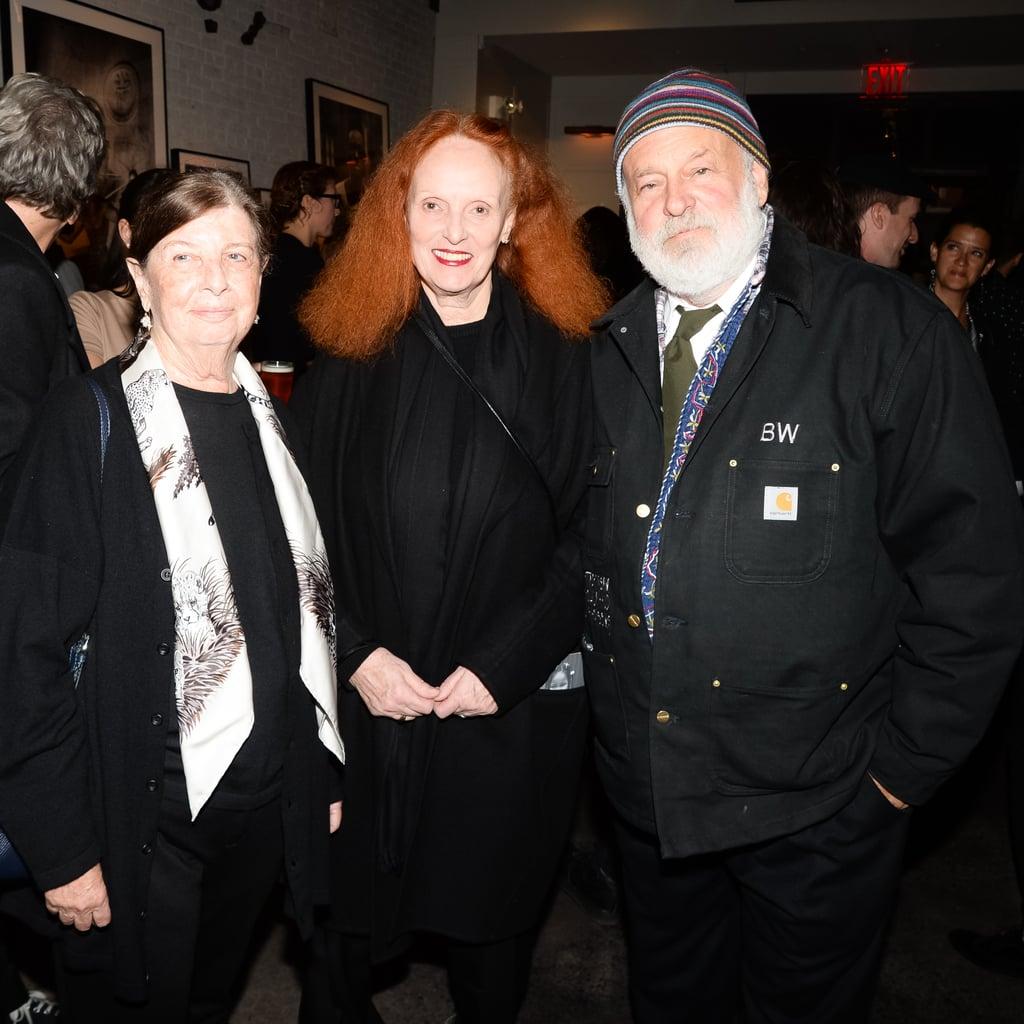 Nan Bush, Grace Coddington, and Bruce Weber