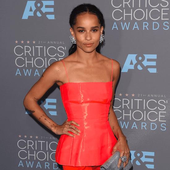 Zoe Kravitz at Critics' Choice Awards 2016