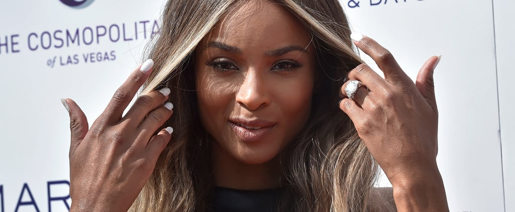 Ciara Paired Her Engagement Ring With a Whole Lot of Leather
