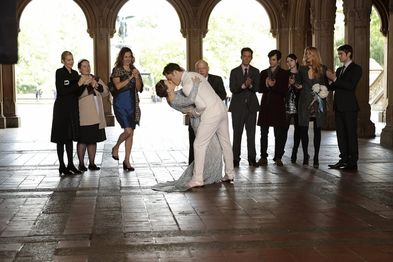 Not a bad way to end Gossip Girl, am I right?