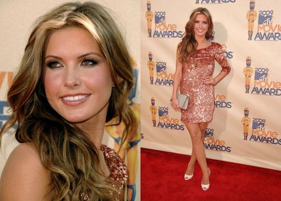 Audrina Patridge at the MTV Movie Awards