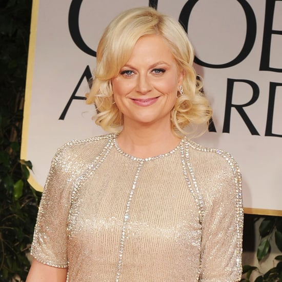 Amy Poehler and Will Arnett Golden Globes 2012 Pictures