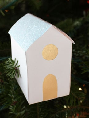 Lil Links: Glitter Houses For the Holidays