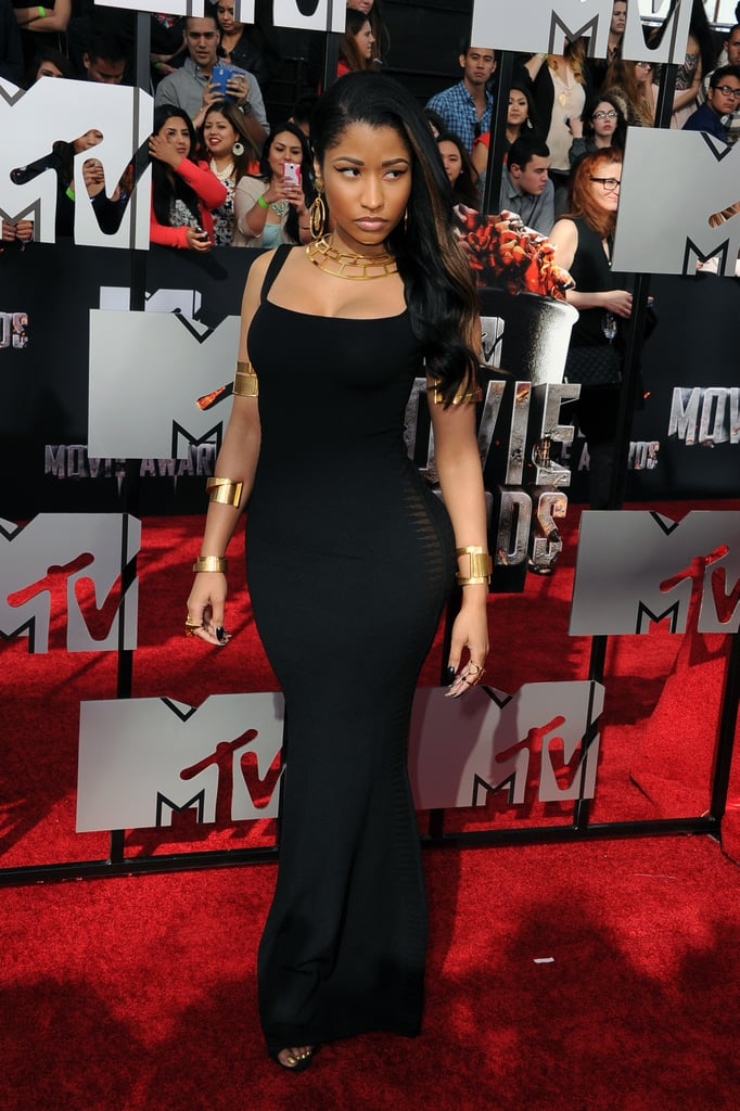 Nicki Minaj at the 2014 MTV Movie Awards