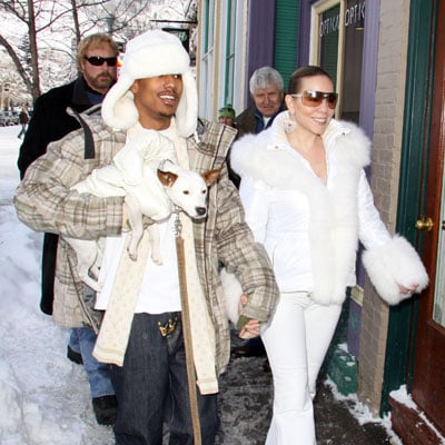 Mariah Carey and Nick Cannon In Aspen