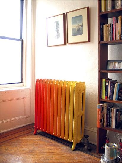 Hot Idea: Flaming Gradient Radiator