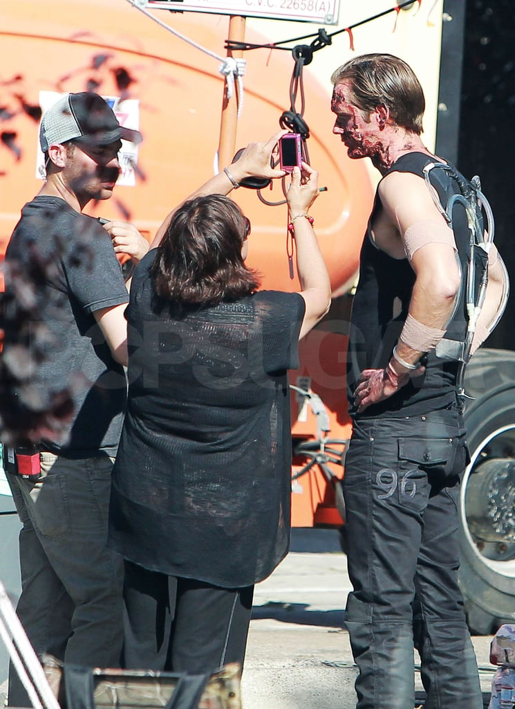 Pictures of True Blood Filming