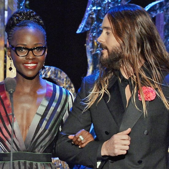Jared Leto and Lupita Nyong'o at the SAG Awards 2015