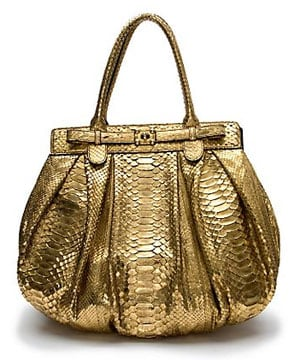 Zagliani Metallic Python Handbag: Love It or Hate It?