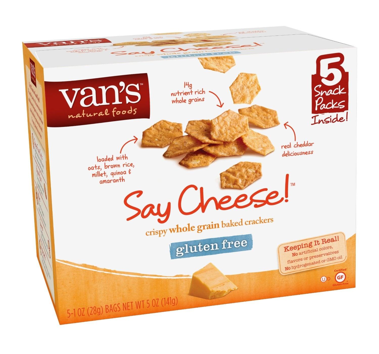 Van's Say Cheese Crackers