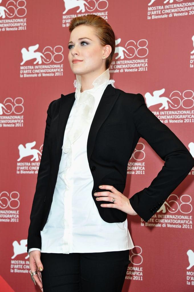 Evan Rachel Wood in Venice.