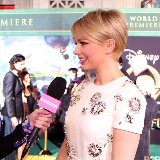 Michelle Williams Oz The Great and Powerful Premiere Video