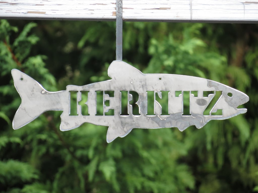 Family-Name Fish Sign