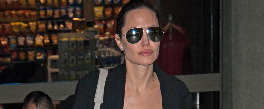 Angelina Jolie's Travel Look Is About to Become Your Summer Style Anthem