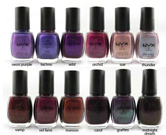 Beauty Marked!  A Deep Purple Nail Polish