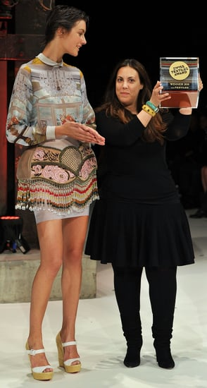 Mary Katrantzou Awarded 2010 Swiss Textile Award