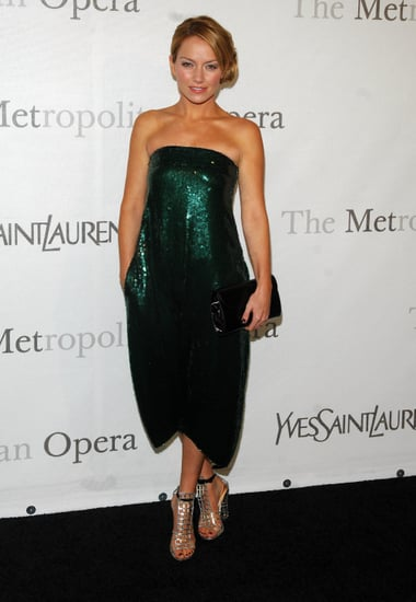 Becki Newton in Sequin YSL Jumpsuit: Love It or Hate It?