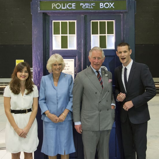 Prince Charles Doctor Who Visit