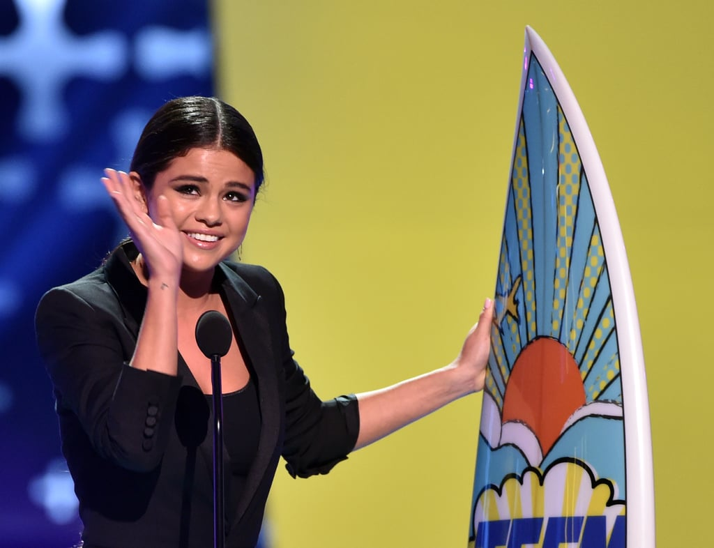 In 2014, Selena Gomez got emotional after being honoured with the ultimate choice award.
