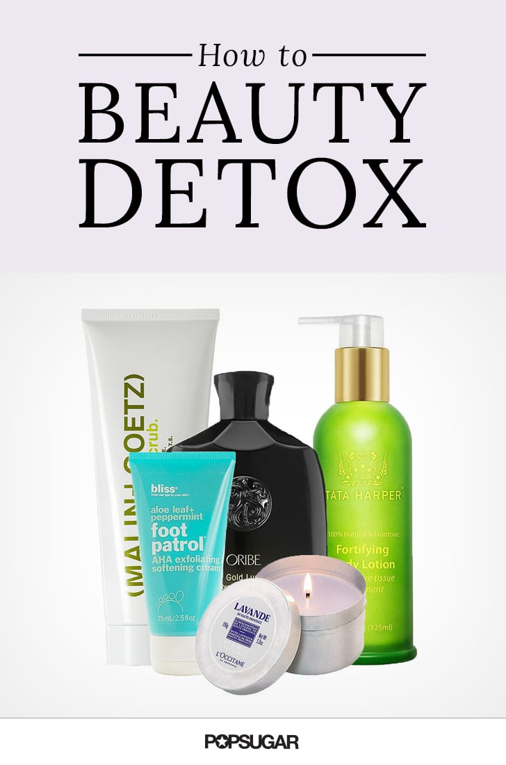 How to Beauty-Detox After a Holiday Weekend
