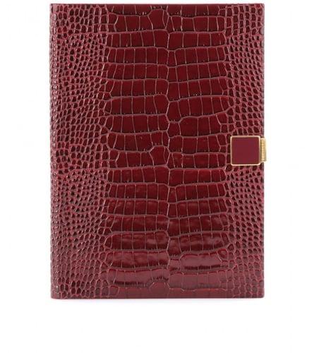 Smythson Soho textured-leather 2014 diary