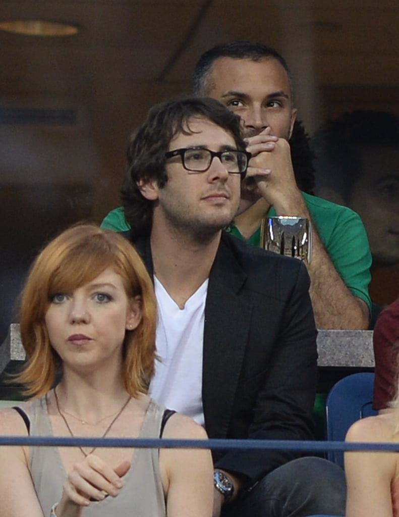 Josh Groban attended the US Open in NYC.