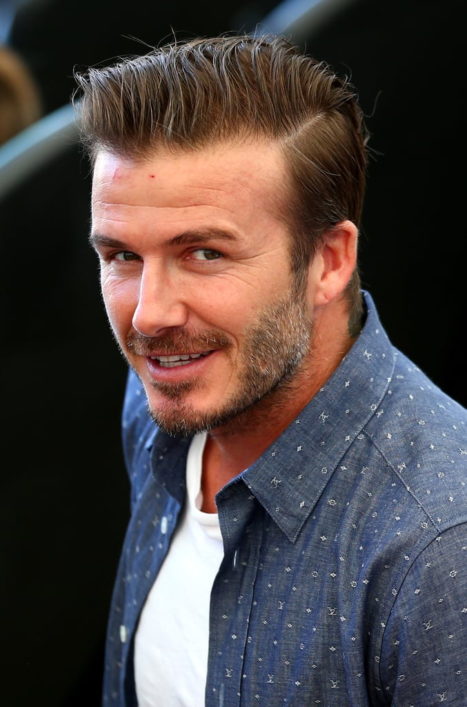 David Beckham attended the 2014 World Cup final.