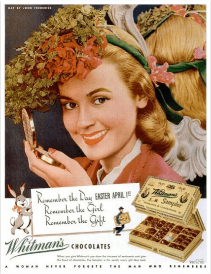 Don't forget the chocolates!