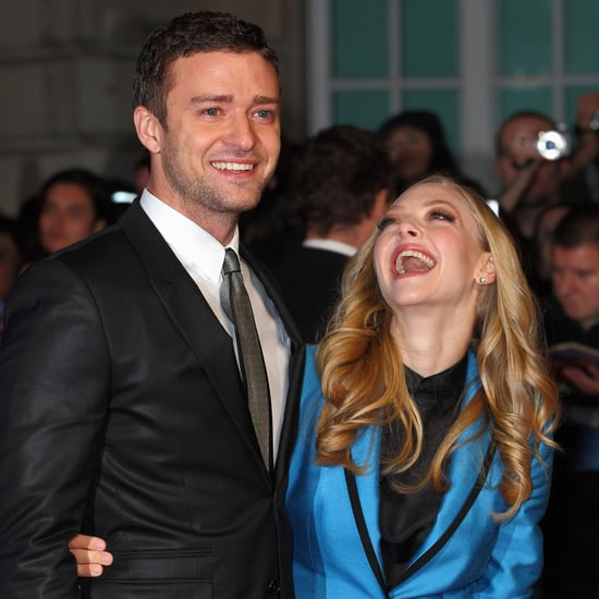 Justin Timberlake, Amanda Seyfried In Time London Pictures