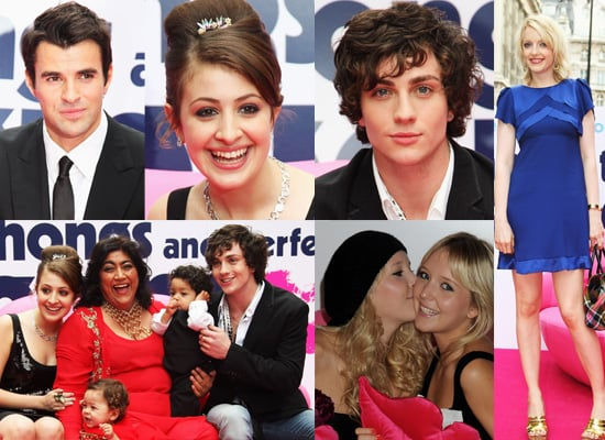 Gallery From Premiere Of Angus, Thongs And Perfect Snogging With Steve Jones, Georgia Groome, Aaron Johnson, Lauren Laverne, etc