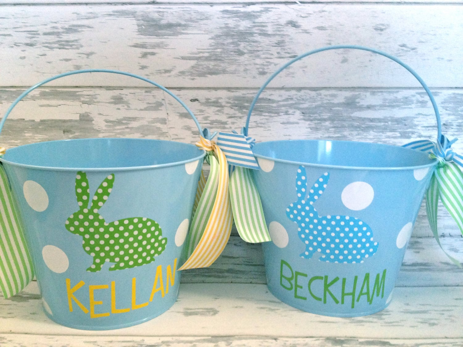 Personalized Easter Basket Pail