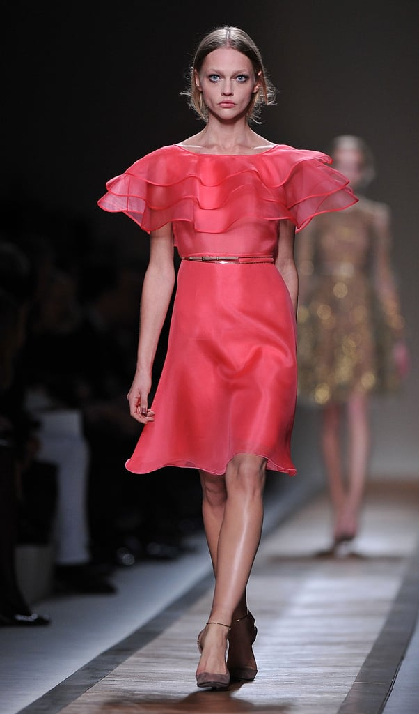 2011 Spring Paris Fashion Week: Valentino
