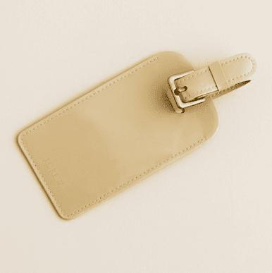 J.Crew Patent Luggage Tag