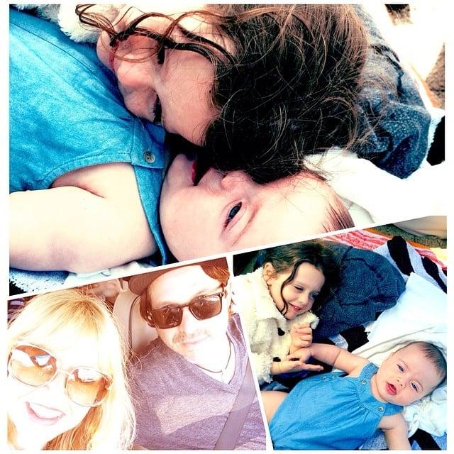 Skyler and Kaius Berman got in plenty of bonding time with their parents, Rachel Zoe and Rodger Berman, over Memorial Day weekend. Source: Instagram user rachelzoe