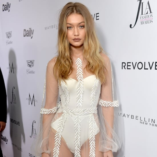 Gigi Hadid's Sheer Dress at Daily Front Row Awards 2016