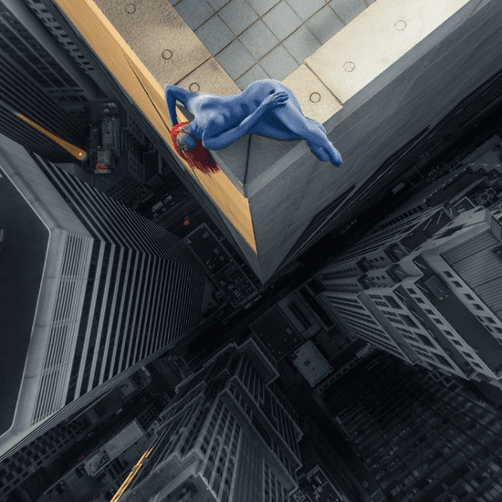 Real Superheroes Pose 40 Stories Above San Francisco