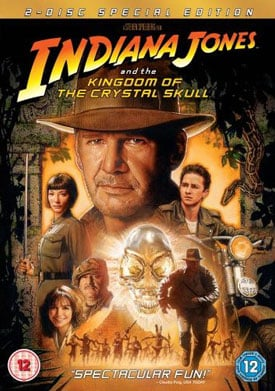 UK DVD Review Of Indiana Jones & The Kingdom Of The Crystal Skull