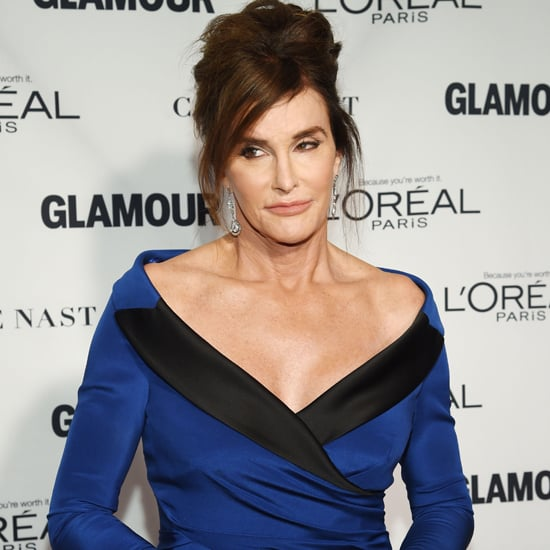 Caitlyn Jenner's Blue Dress Glamour Women of the Year Awards