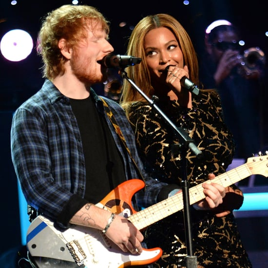Beyonce and Ed Sheeran Perform at the Stevie Wonder Tribute