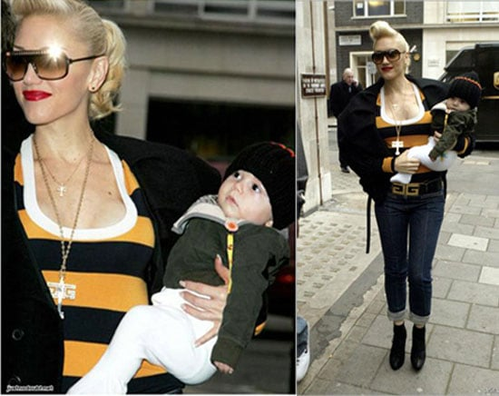 Gwen and Kingston Make the Rounds