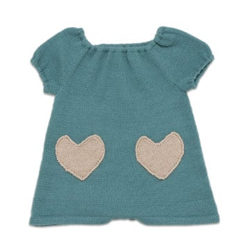 Oeuf Bobo Heart Sweater Dress ($96)