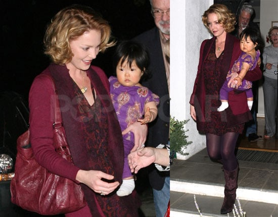 Photos of Katherine Heigle and Naleigh Kelley Leaving a Baby Shower in LA Together