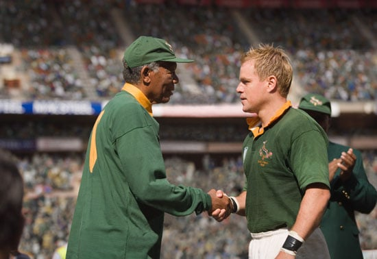 Review of Matt Damon and Morgan Freeman in Clint Eastwood's Invictus