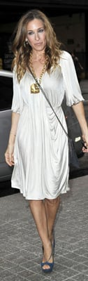 Sarah Jessica Parker Wears White to Paley Center For Media