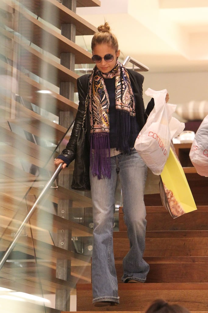 Nicole Richie Goes on a Solo Shopping Spree in Bondi Junction