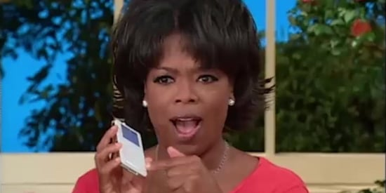 Oprah And Her Audience Losing It Over An iPod In 2003 Is Pure Magic