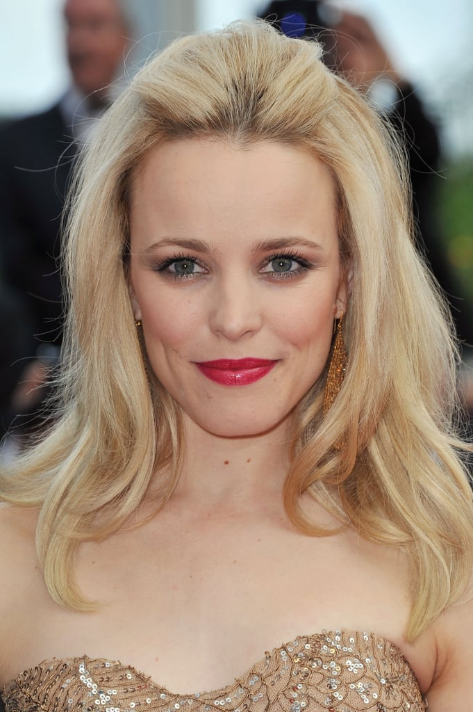 Rachel McAdams has seen a bevy of hair colors in her day, but she looked choice with lighter hair at the 2011 Cannes Film Festival.