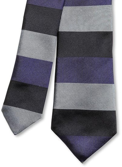 Mad Men® Collection Striped Silk Skinny Tie