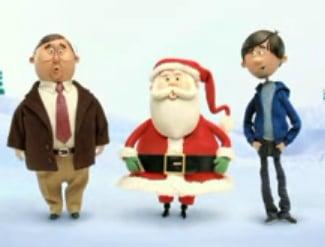 Santa Makes a Cameo in a Mac vs. PC Ad