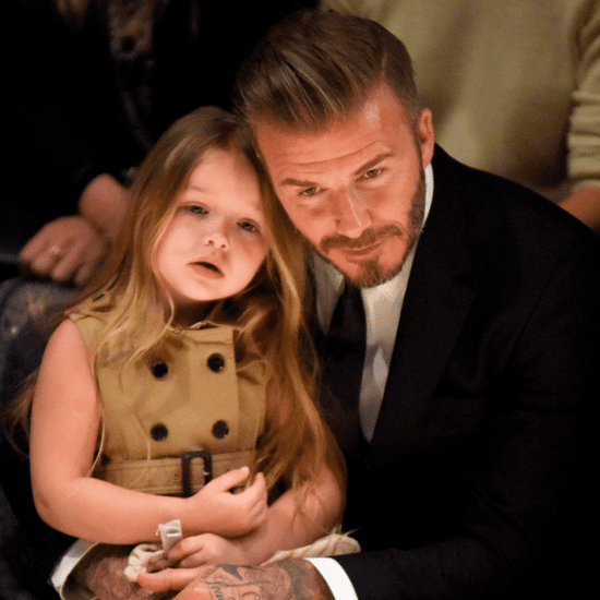 David Beckham Gets Minions Tattoo For Daughter Harper